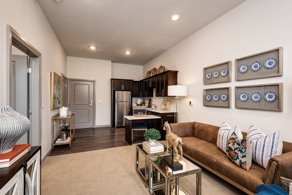 Open floor plans at Anthology of Louisville in Louisville, Kentucky