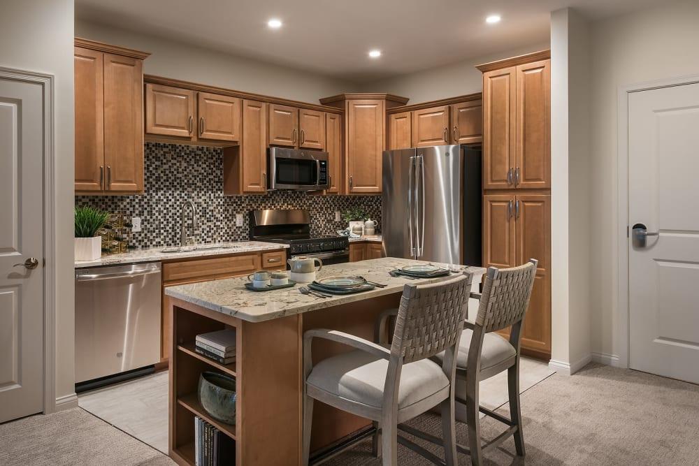Kitchen at Cedarbrook of Rochester