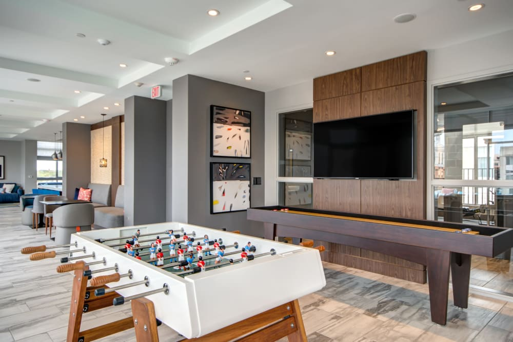Clubhouse with games at Harlow in Washington, District of Columbia