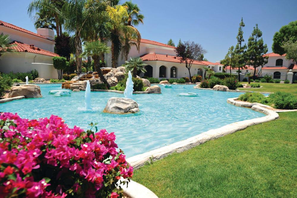 Swimming Pool at San Antigua in McCormick Ranch in Scottsdale, Arizona