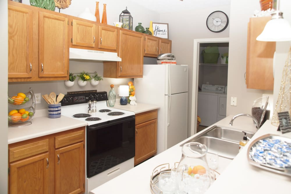 Kitchen at Waterford Place in Loveland, Ohio