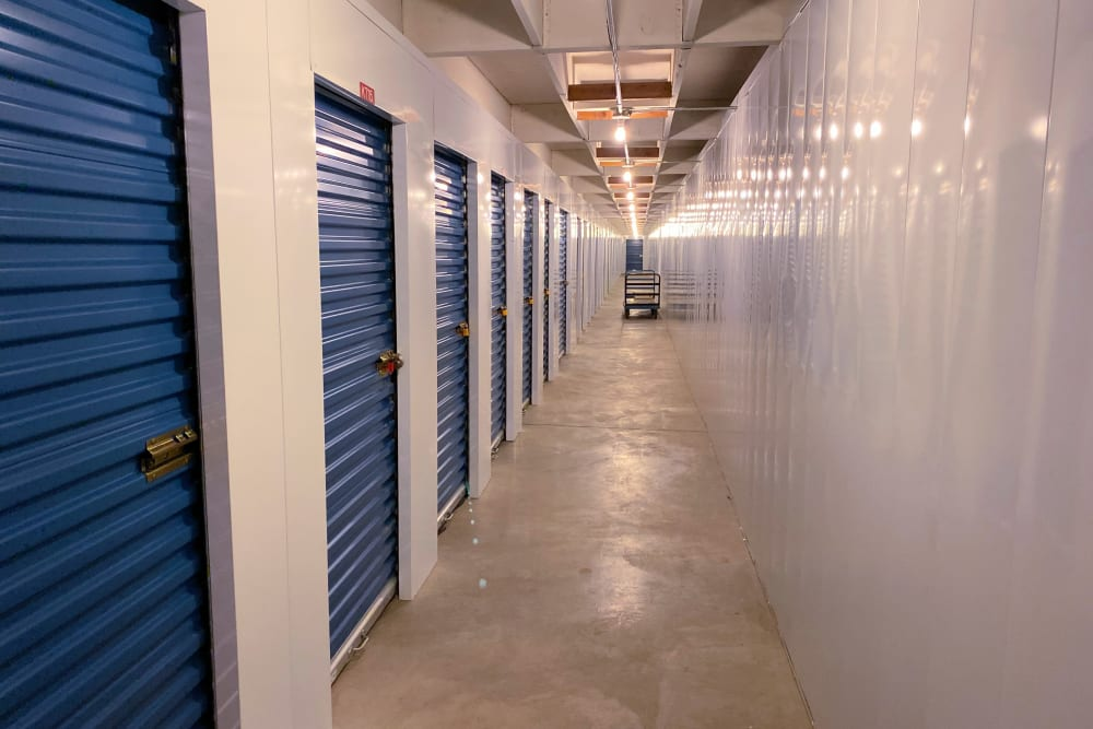 Storage locks available at Trojan Storage in Everett, Washington