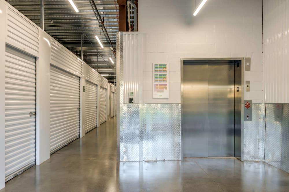 Elevator at Metro Self Storage in Westhampton Beach
