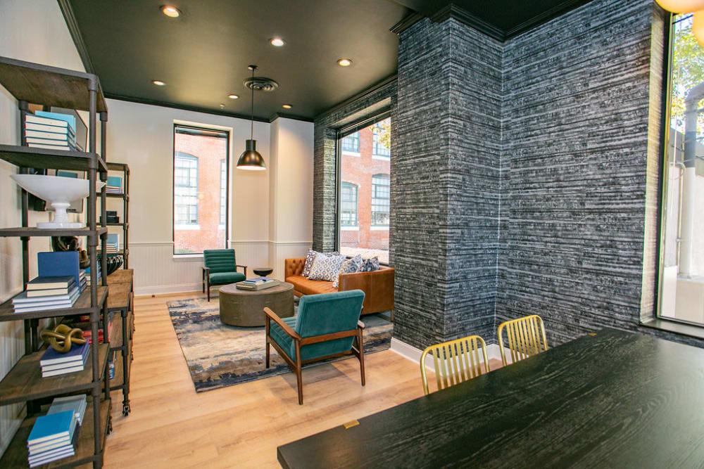 Lobby area at Lofts at Riverwalk