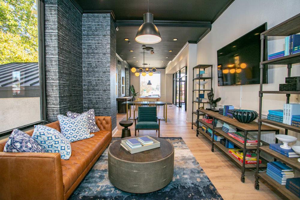 Lounge area at Lofts at Riverwalk