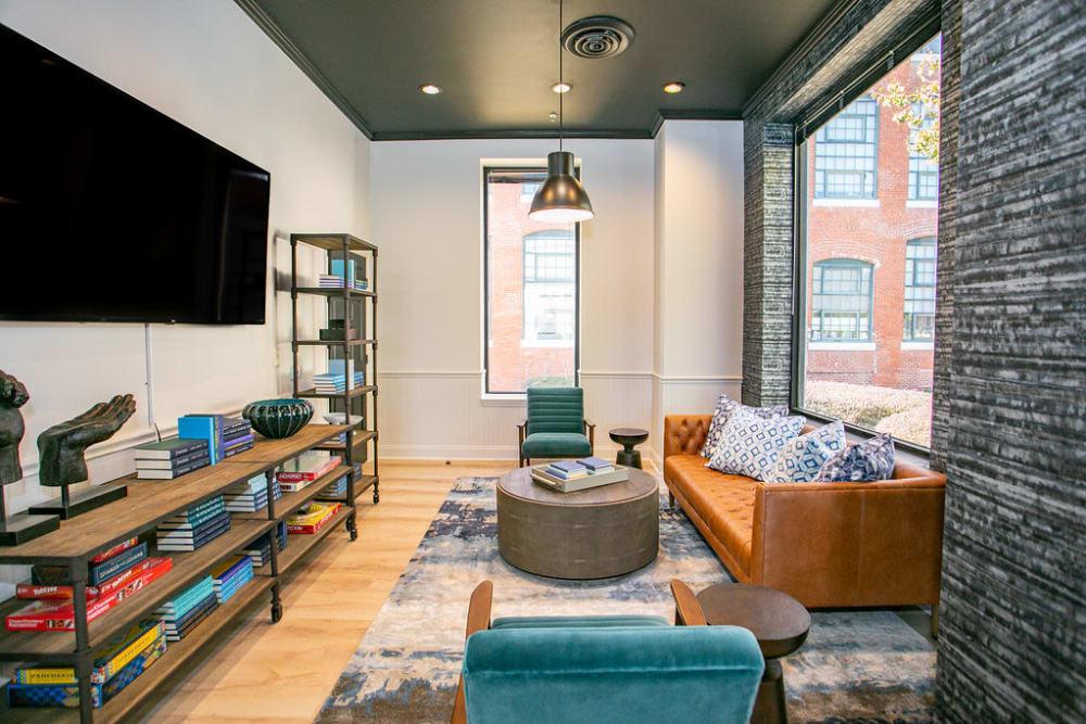 Living room at Lofts at Riverwalk
