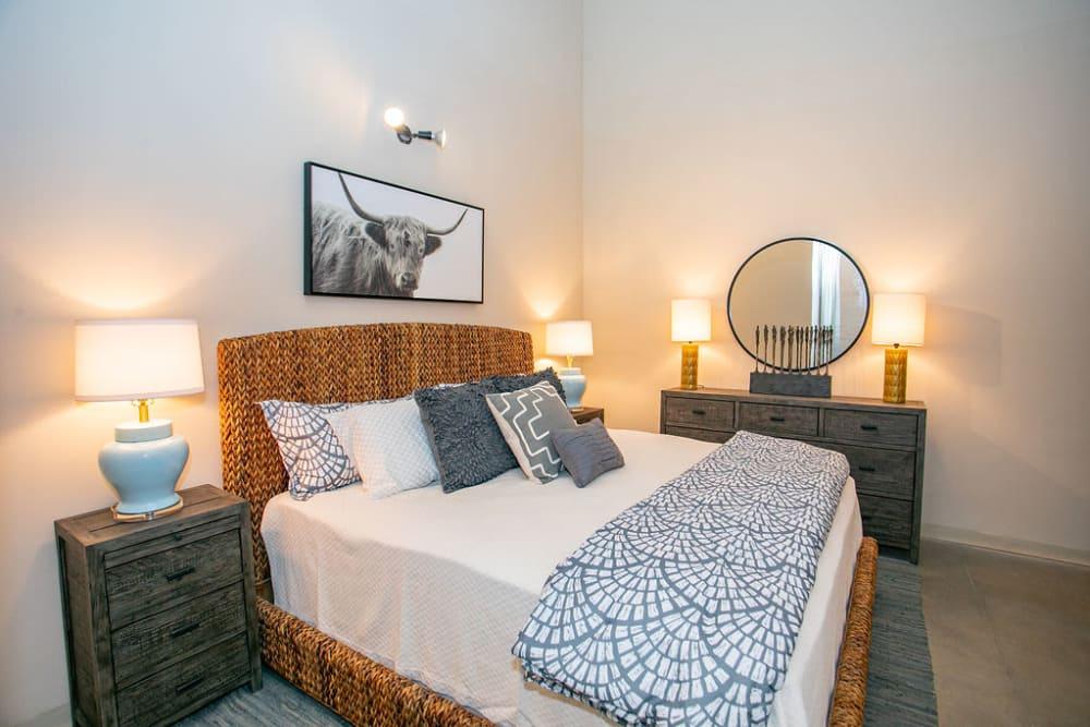 Bedroom at Lofts at Riverwalk