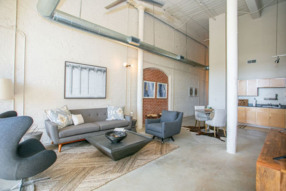Modern features at Lofts at Riverwalk