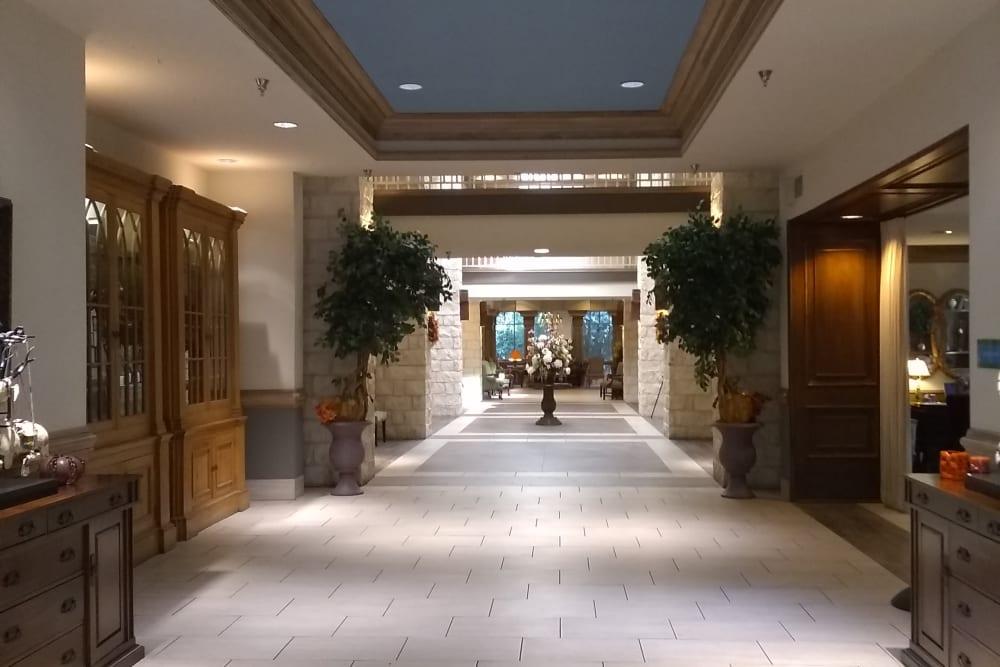 A hallway at The Inn at Los Patios in San Antonio, Texas