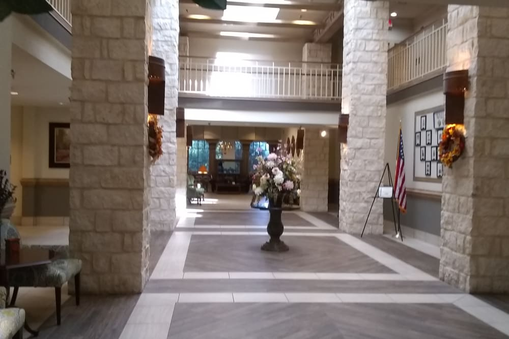The lobby at The Inn at Los Patios in San Antonio, Texas
