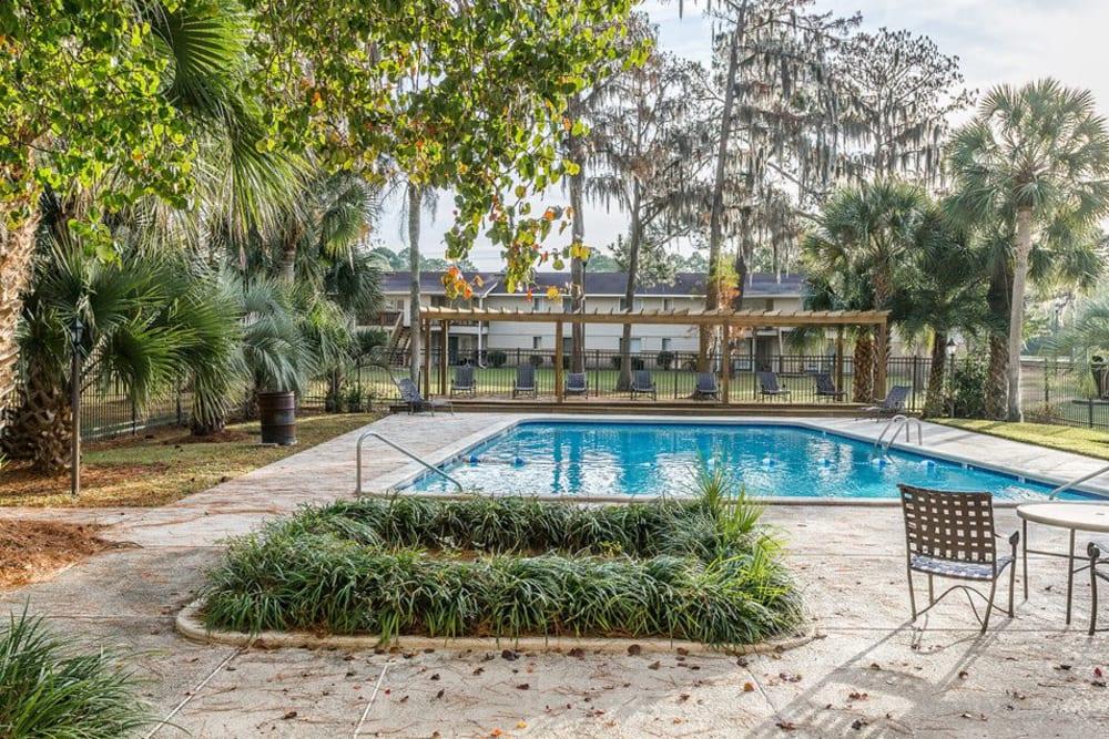 The community pool at Reserve at Altama in Brunswick, Georgia