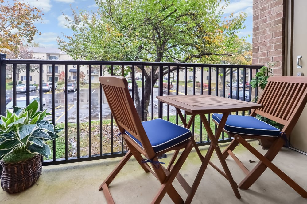 Our Apartments in Levittown, Pennsylvania offer a Private Balconies