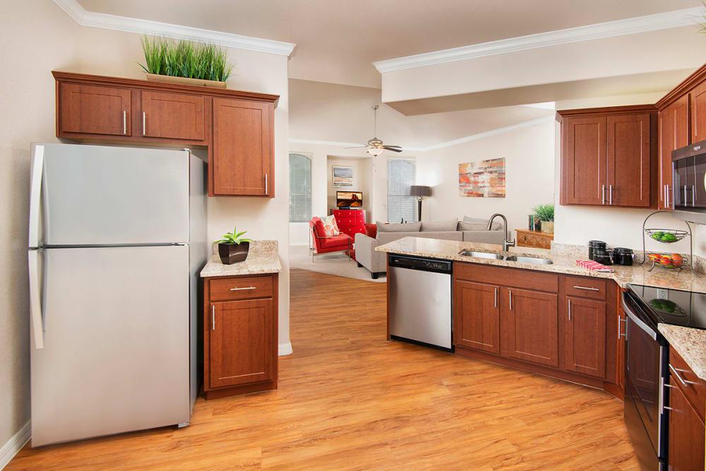 Spacious Kitchen at Villas on Hampton Avenue in Mesa, Arizona
