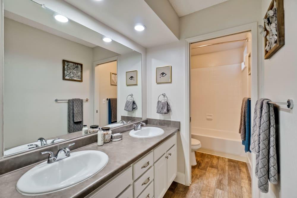 Bathroom at Terra Willow Glen in San Jose, California