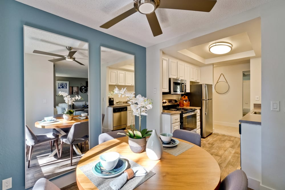 Our Apartments in San Jose, California offer a Dining Room