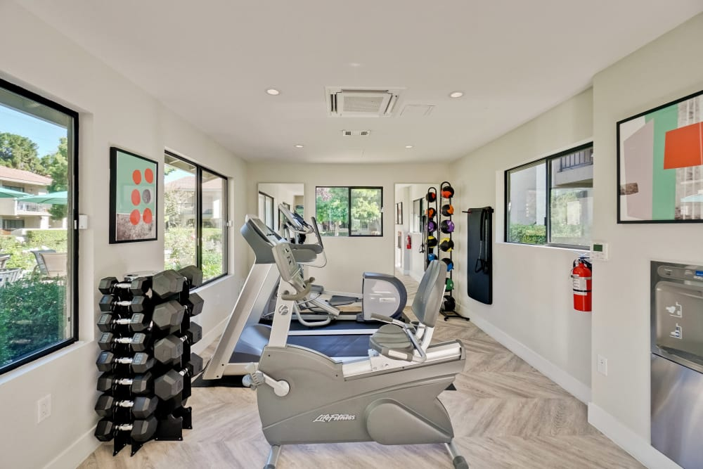 Fitness Center at Terra Willow Glen in San Jose, California