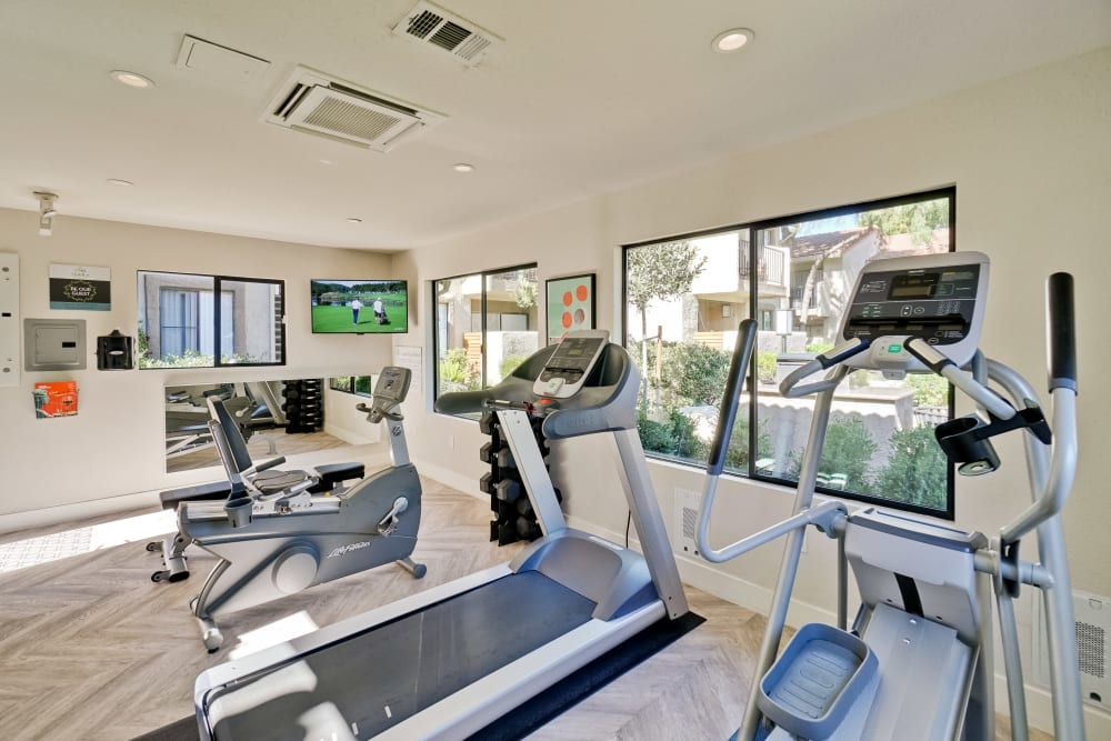 Our Apartments in San Jose, California offer a Fitness Center
