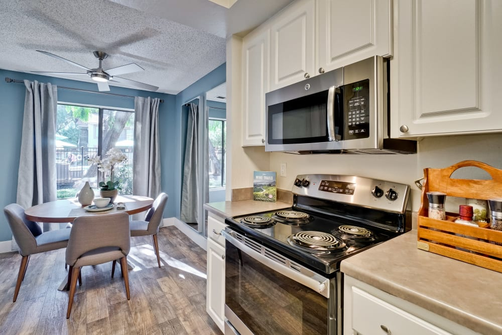Our Apartments in San Jose, California offer a Kitchen