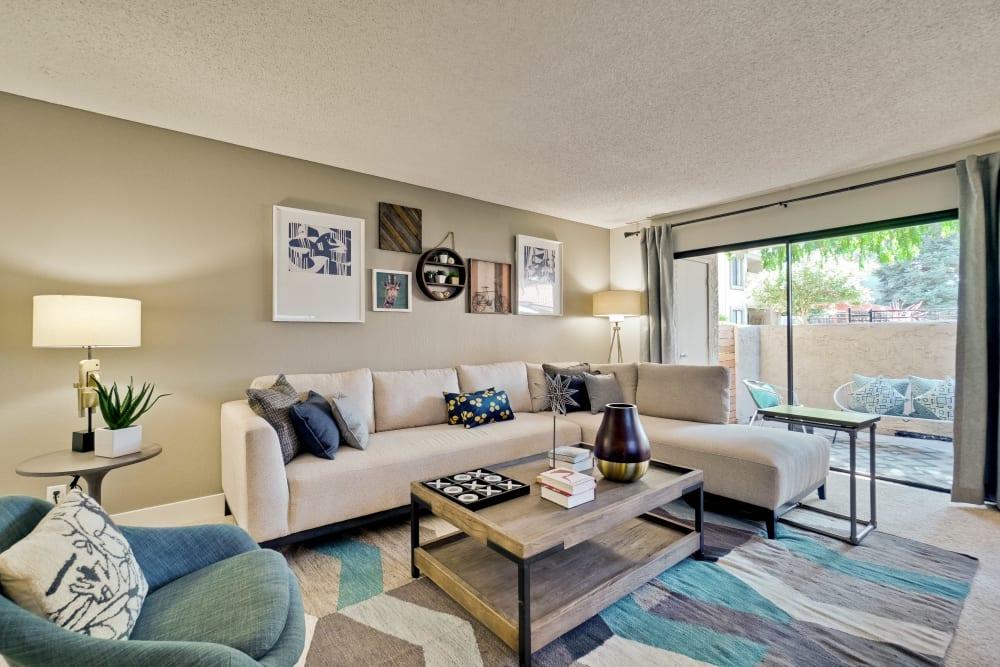 Living Room at Terra Willow Glen in San Jose, California