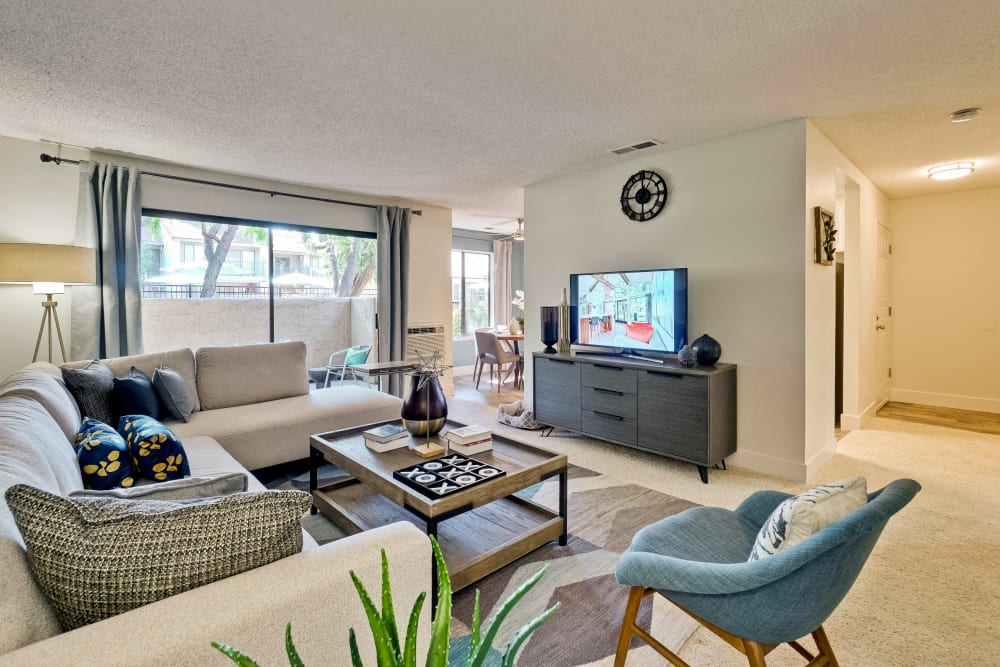 Our Apartments in San Jose, California offer a Living Room