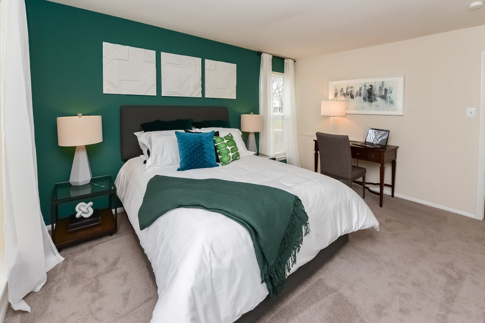 Bedroom at The Preserve at Milltown in Downingtown, Pennsylvania