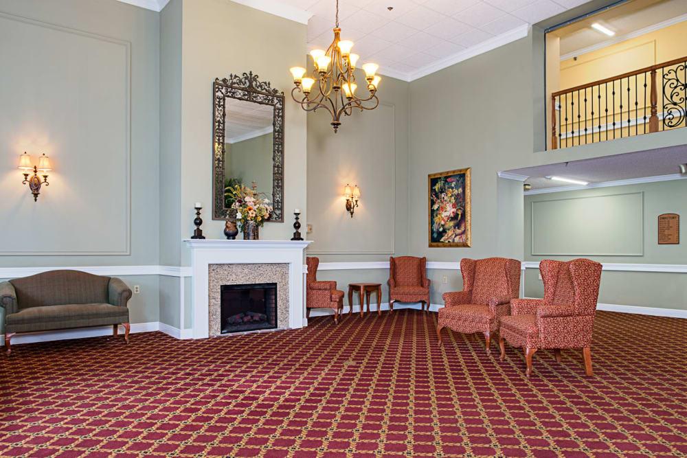 Entryway at Grand Villa of Delray West in Florida