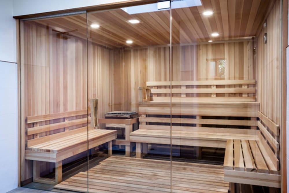 Sauna at Brookdale Apartments in San Jose, California