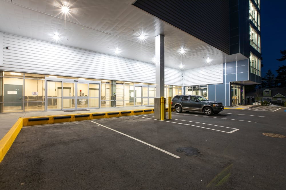 Ballinger Heated Storage in Shoreline, Washington offers extended access hours from 5 a.m. to 11 p.m.