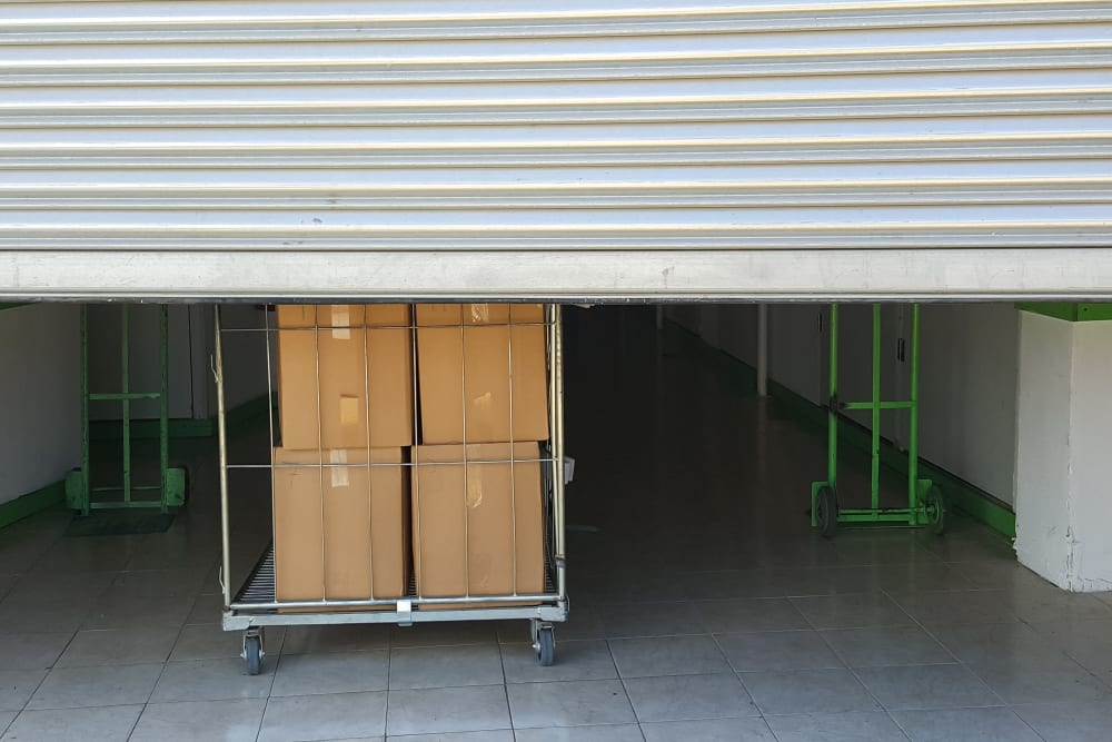 Dollies available at A3 Storage Centers in Odessa, Texas