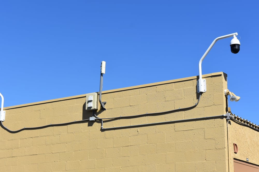 Video surveillance at AAA Alliance Self Storage in Tempe, Arizona