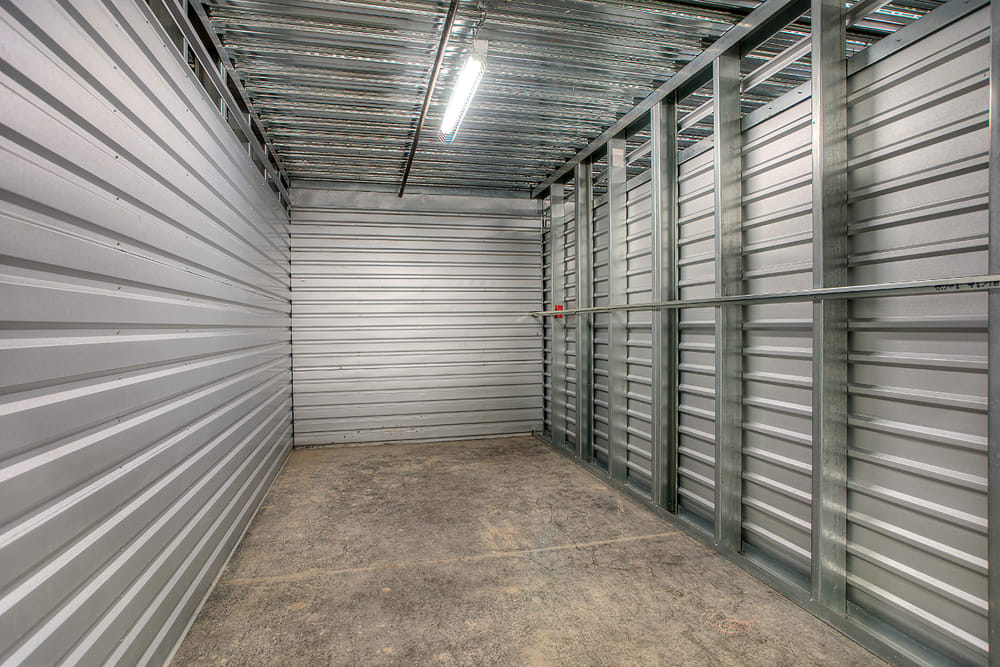 Air-conditioned units at StorQuest Self Storage in Clearwater, Florida