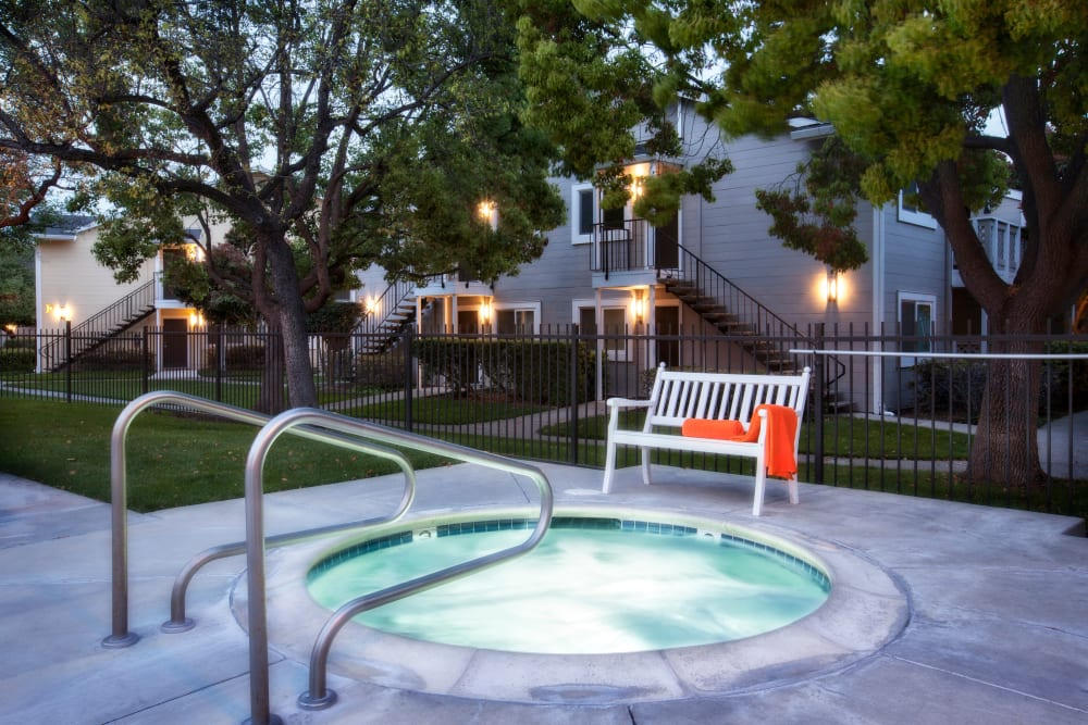 Spa at Cypress Pointe Apartments in Gilroy, California