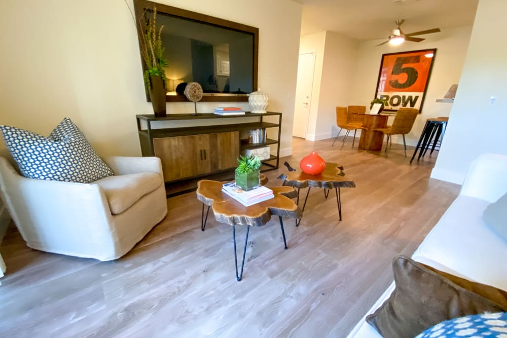 Space amenities at Cypress Pointe Apartments in Gilroy, California