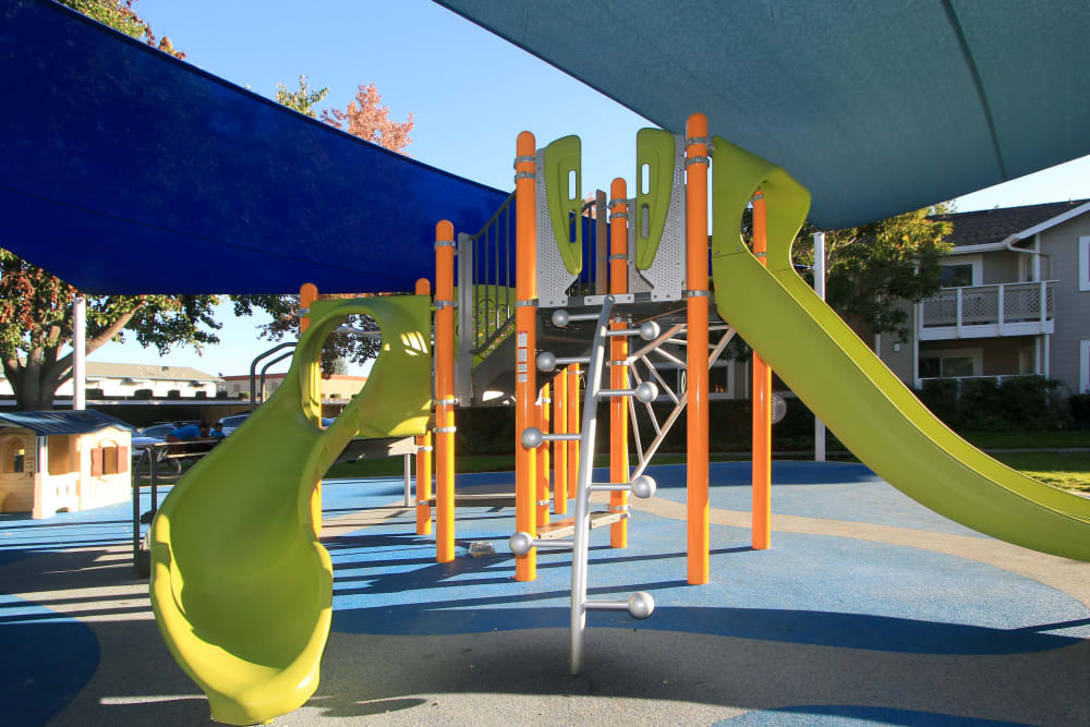 Onsite playground at Cypress Pointe Apartments in Gilroy, California