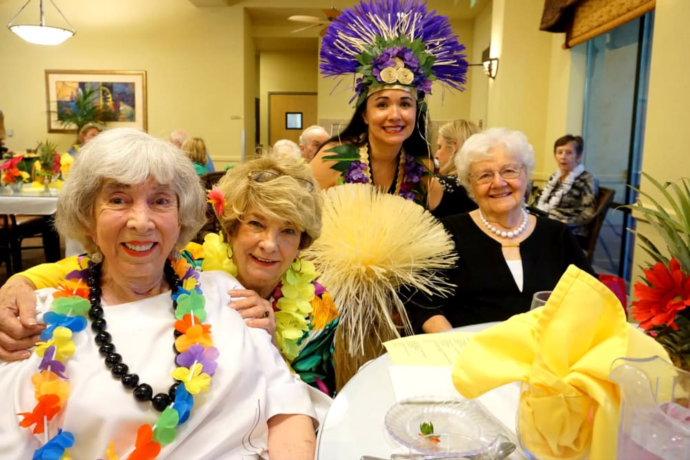 Luau at Winding Commons Senior Living