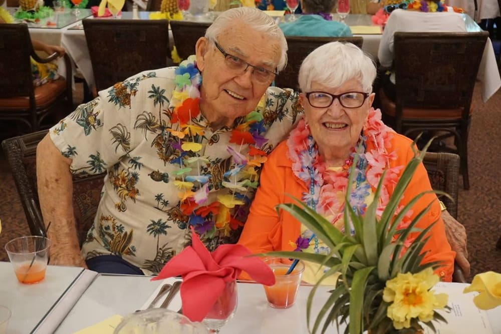 Residents enjoying event at Winding Commons Senior Living