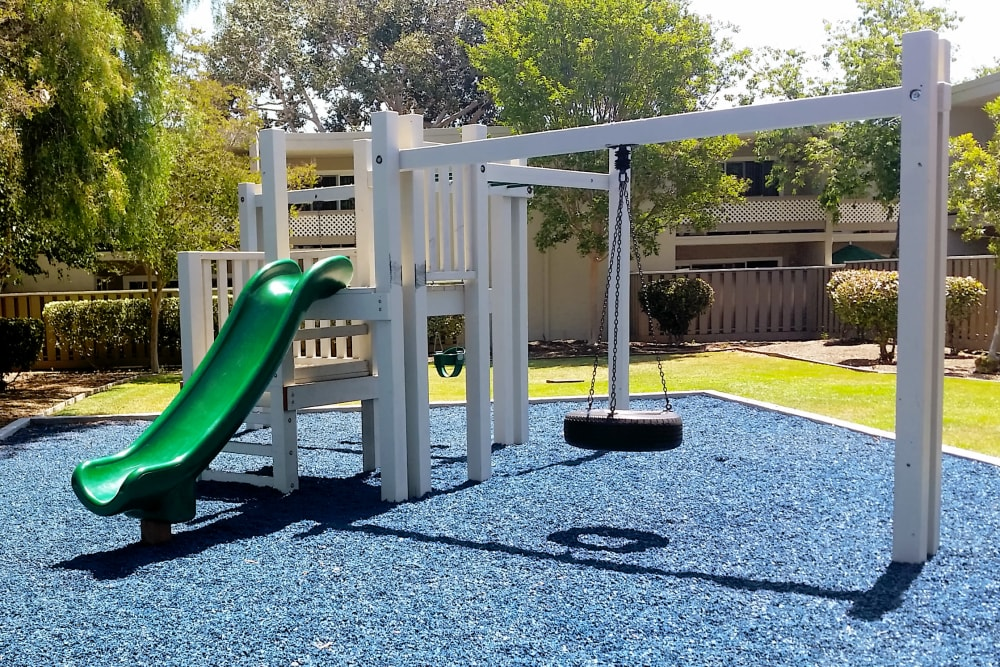 Playground at Halford Gardens Apartments in Santa Clara, California