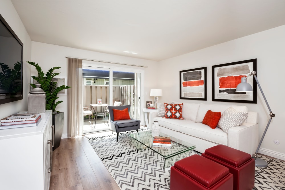 Space amenities at Halford Gardens Apartments in Santa Clara, California
