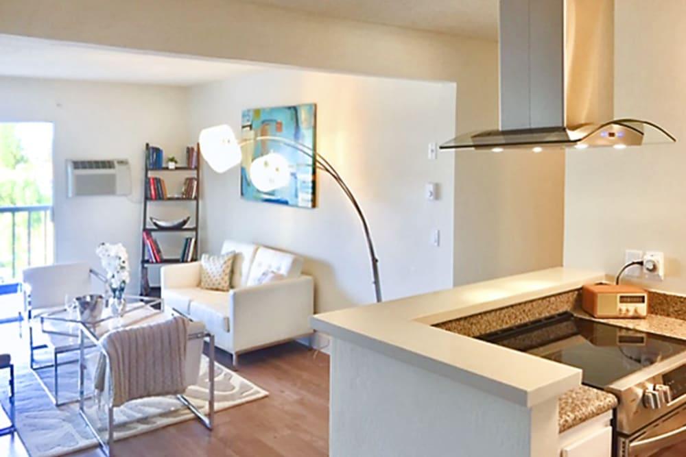 Apartment amenities at Newport Apartments in Campbell, California