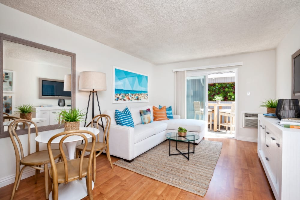 Space amenities at Parkwood Apartments in Sunnyvale, California