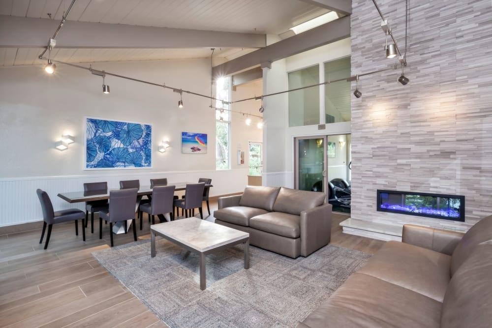 Clubhouse at Spring Creek Apartments in Santa Clara, California