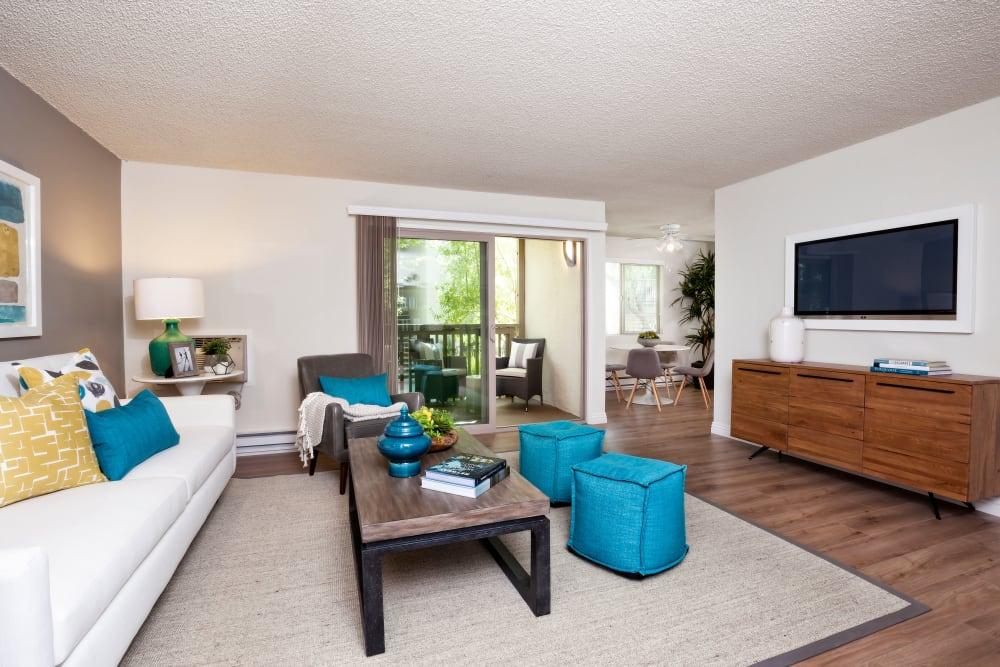 Space amenities at Spring Creek Apartments in Santa Clara, California