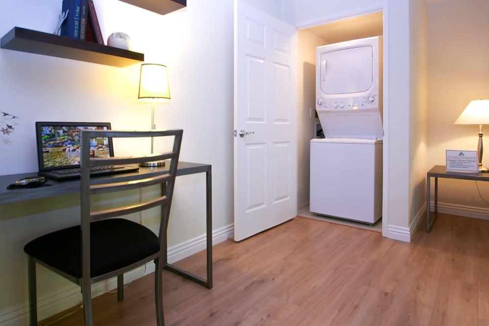 Office space at Spring Creek Apartments in Santa Clara, California