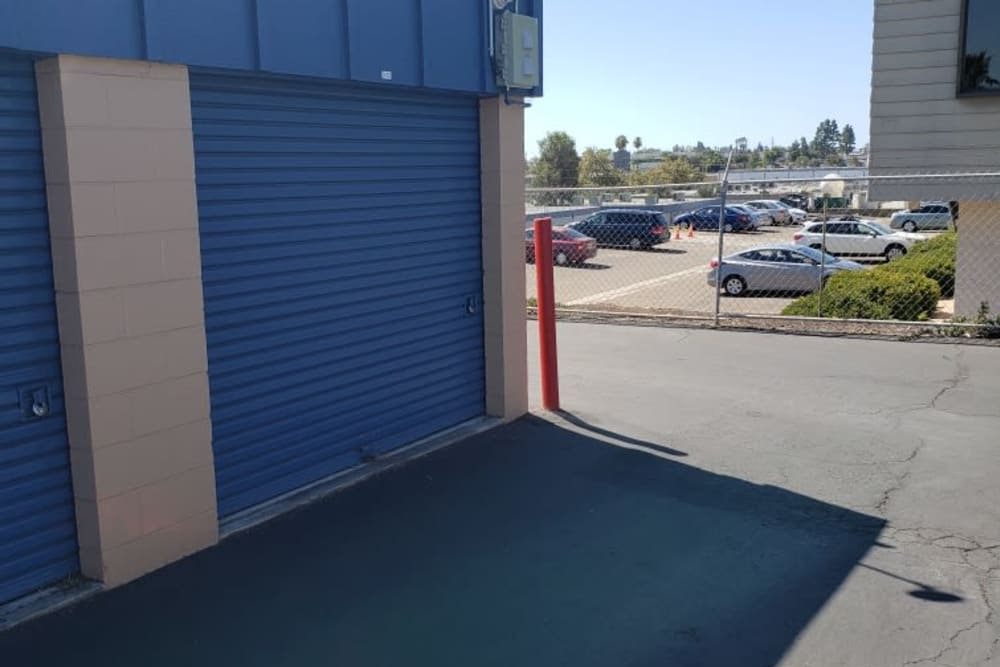 Our gated facility in San Diego, California at AAA Alliance Self Storage