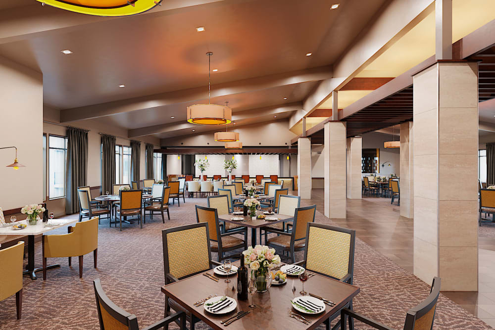 Diner at Carnegie Heights at Henderson in Henderson, Nevada