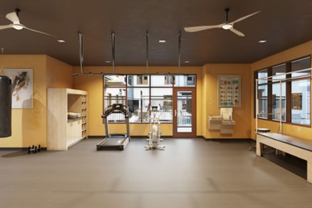 Fitness Room in Carnegie Heights at Henderson in Henderson, Nevada