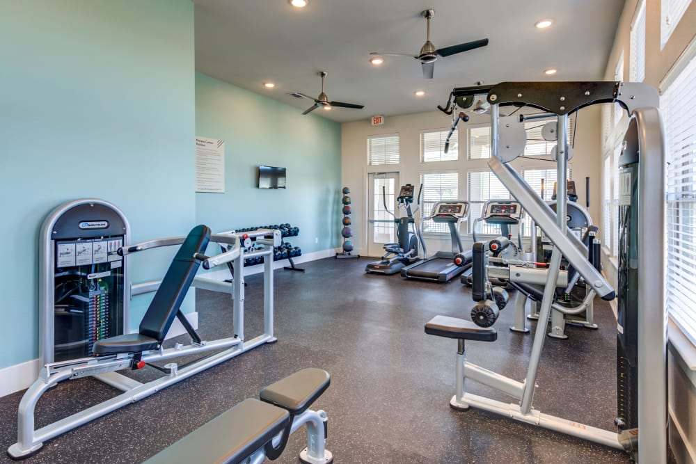 The Stanton offers a Fitness Center in Lockhart, Texas