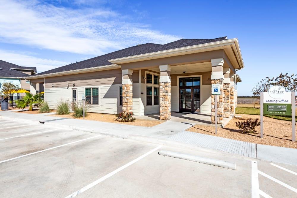 Entryway at Apartments in Lockhart, Texas