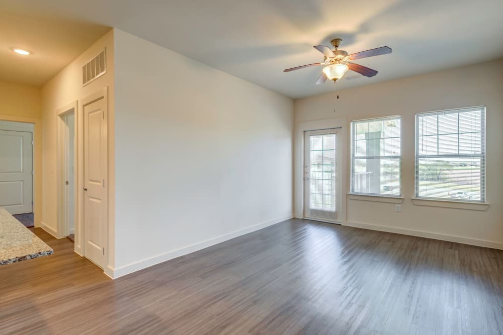 Luxury Living Room at Apartments in Lockhart, Texas