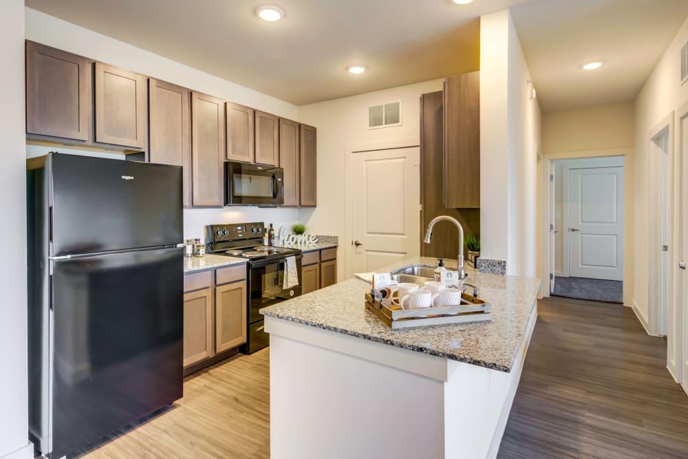 Kitchen at The Stanton in Lockhart, Texas